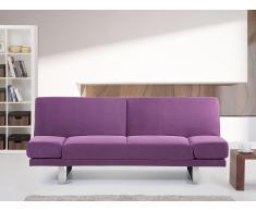 Sofá cama fucsia - canapé - sofá tapizado - YORK