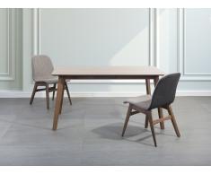 Mesa de comedor - Madera de caucho - 150x90 cm - MADOX