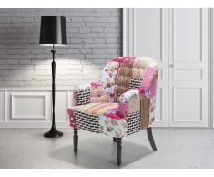 Butaca tapizada - Diseño de patchwork - MANDAL