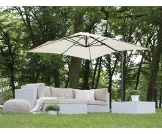Sombrilla de jardín 250x250x235 cm beige claro MONZA
