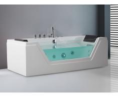 Bañera de hidromasaje - Spa - Bañera rectángular - SAMANA
