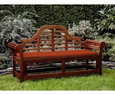 Banco de jardín con colchón terracota 180 cm TOSCANA MARLBORO