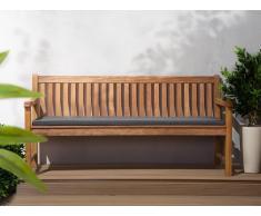 Colchón para banco de jardín TOSCANA/JAVA grafito 169x50x5 cm