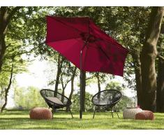 Sombrilla de jardín 270 cm color borgoña VARESE