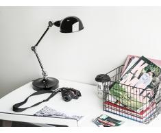 Lámpara de mesa negra CABRIS