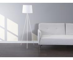 Lámpara de pie – Lámpara de salón – Blanco– SAMBRA
