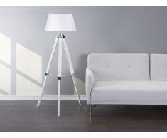 Lámpara de pie - Lámpara de salón - Blanco - MADEIRA