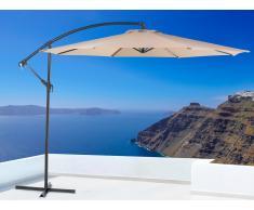 Sombrilla de jardín - Color beige arena - Metal - ø 300 cm - RAVENNA