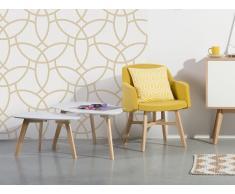 Mesa de centro de diseño - Blanco - FLY II
