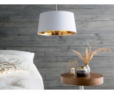 Lámpara de techo en blanco/dorado KALLAR