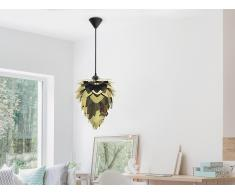 Moderna lámpara de techo – Chandelier – Dorado - Negro – BLOOM mini