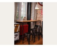 Taburete de bar - Silla - Metal - Negro - 46 cm - CABRILLO