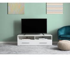 Mueble TV blanco BORGARNES