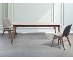 Mesa de comedor - Madera de caucho - 200x100 cm - MADOX