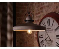 Lámpara de techo - Iluminación colgante - Concreto - Gris - NOATAK