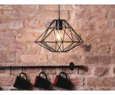 Lámpara de techo - Iluminación colgante - Metal - Negro - GUAM