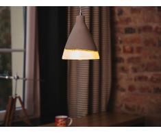 Lámpara de techo - Iluminación colgante - Concreto - Gris - SEYMOURE