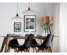 Lámpara de techo en metal cobriza GIONA
