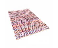 Alfombra de algodón - multicolor - 140x200 cm - Hecha a mano - ARAKLI