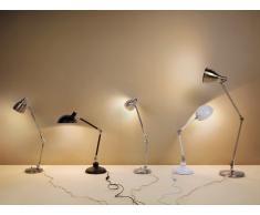 Lámpara de mesa moderna - color niquel - PATOKA