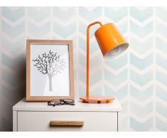 Lámpara de mesa - Lámpara de oficina - Metal - Naranja - TARIM