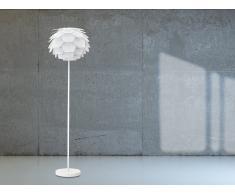 Lámpara de pie blanca - Lámpara de salón - SEGRE