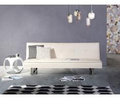 Sofá cama blanco - Canapé - Sofá tapizado - DERBY