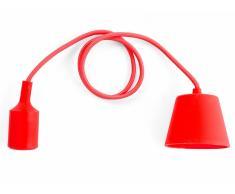 Lámpara de techo - Iluminación colgante - Silicona - Rojo - ARAKS