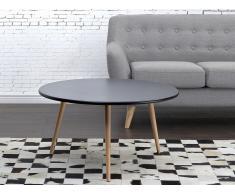Mesa auxiliar – Mesa de café – Negro- TENNESSEE