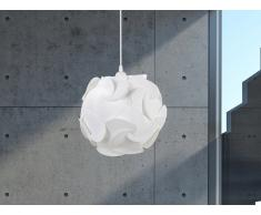 Moderna lámpara de techo – Chandelier – Blanco – TAMBRE