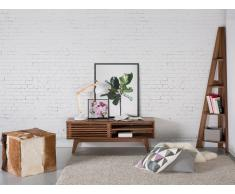 Cómoda - Mueble TV - Mueble de salón en MDF - nogal - TOLEDO