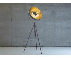 Lámpara de pie - Iluminación moderna - Color negro - THAMES
