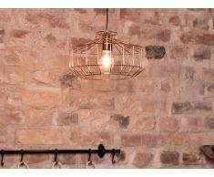 Lámpara de techo - Iluminación colgante - Metal - Color cobre - WABASH