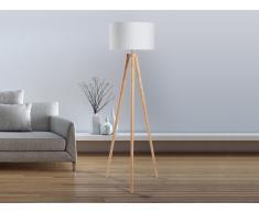 Lámpara de pie - Iluminación de diseño - Blanca - NITRA