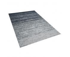 Alfombra en poliéster gris 160x230 cm KATERINI