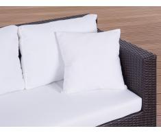 Cojín de jardín - Almohadón para mobiliario de exterior - 40x40 cm beis