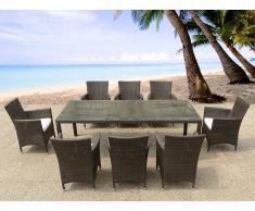 Mueble de mimbre compra barato muebles de mimbre online for Set de resina de jardin trenzado barato