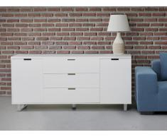 Cómoda en color blanco - Cajonera - mueble de salón - SEATTLE