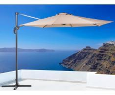 Sombrilla de jardín - Color moca- Metal - ø 291 cm - SAVONA