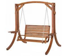 Columpio de jardín - Estructura en madera de alerce - NOVARA