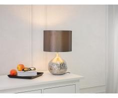 Lámpara de mesa moderna - Plata - YAKIMA