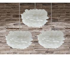 Lámpara de techo - Iluminación de techo - 3 piezas - Blanca - FOGmini