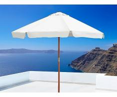 Sombrilla de jardín - Color beis - Madera - TOSCANA