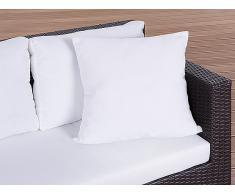 Cojín de jardín - Almohadón para mobiliario de exterior - 50x50 cm beis