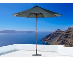 Sombrilla de jardín - Color gris oscuro - Madera ø 270 - TOSCANA II