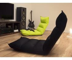 Puf silla - Cojín para sentarse - Verde fluorescente - BALKA