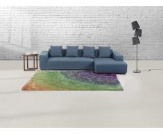 Alfombra arco iris - 160x230 cm - Pelo largo - BURSA