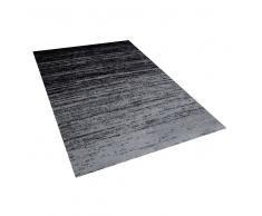 Alfombra en poliéster negra 160x230 cm KATERINI
