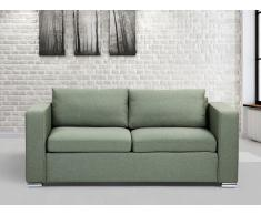 Sofá color verde oliva - sofá tapizado - 3 plazas - HELSINKI