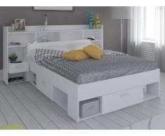 Cama con cajones compra barato camas con cajones online en livingo - Estructura cama cajones ...